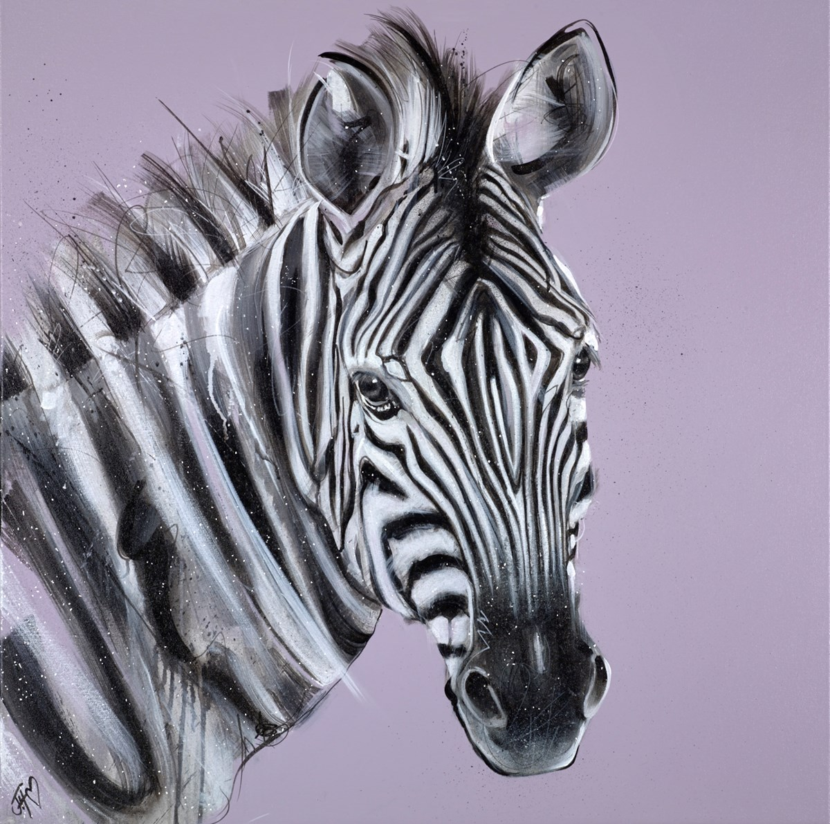 Wild Beauty by jennifer hogwood -  sized 36x36 inches. Available from Whitewall Galleries